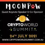 MoonPaw Announced as Keynote Speaker and Sponsor of Crypto World Summit